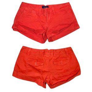 American Eagle Tangerine Orange Shorts - 6